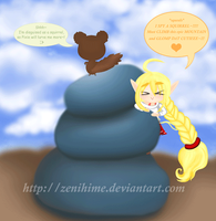 Pixie McCloud and Gribbet - The tale of Two by Zenihime