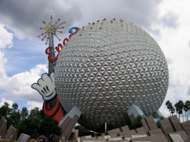 Epcot Spaceship Earth Stock 4 by AreteStock