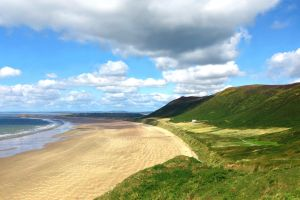 Rhossili Bay by Destroth