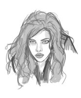 Black Widow_sketch by pandatails
