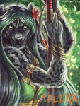 Kalika Badge by Art-of-Sekhmet