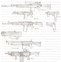 AK Based Rifles and More Automatics by zi0808
