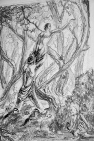 Greek Mythology Contest-Apollo and Daphne