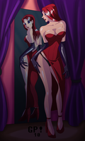 .Jessica Rabbit. by xGeekpower