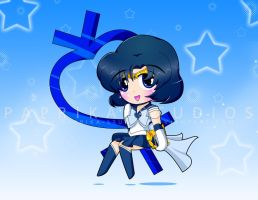 Chibi Sailor Mercury by Paprika-Studios