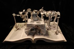Vineyard Book Sculpture by wetcanvas