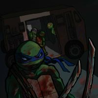 bloody Leo (TMNT) by Pax77Vibiscum7Astras
