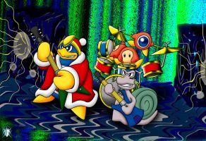 King DeDeDe RoCk BanD by Meteor-05