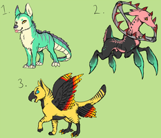 Random Adopts 1 [ALL GONE] by Kemikel