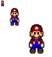 But Dat Mario Sprite Tho by FlamingInfernoX