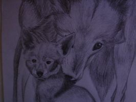 Red Wolfs by Fonika