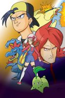 The Rookies of Johto by TheSteveYurko
