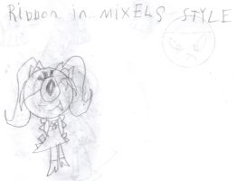 Ribbon In Mixels Style by 4br1l