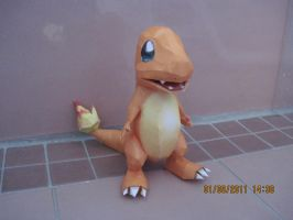 Charmander Papercraft by PrincessStacie