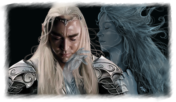 Thranduil - I never forget you by LadyMintLeaf
