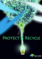Protect + Recycle by Evelynism
