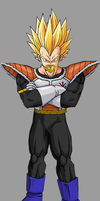 King Vegeta ssj by RobertoVile