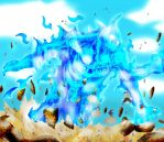 Madara's Susanoo against the Kages by YameGero