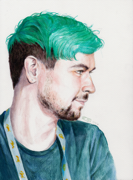 Jacksepticeye at PAX - 7/8/2016 by mintotoo