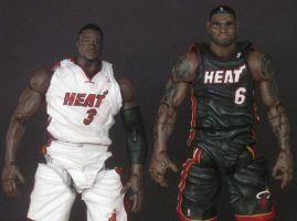 Dwyane Wade Custom figure by guyman80
