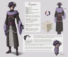 Tryphon Ref sheet by Sleepingfox