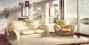 Gold interior by ArtistMax