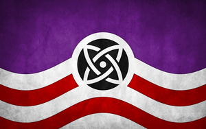 Flags of Touhou: Reisen Udongein Inaba by GreatPaperWolf