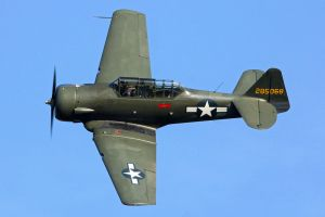 North American AT-6D Harvard III by Daniel-Wales-Images