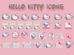 HELLO KITTY ICONS by lillysim