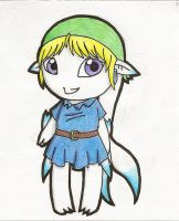 Link and Ruto's baby by TechKitten