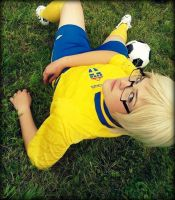 Sverige Soccer Player by RaitoxL