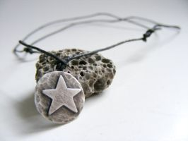 Dark Pentacle Necklace by MoonLitCreations