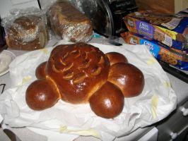 Turtle shaped bread by Sumrlove