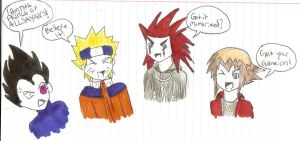 ANNOYING ANIME CATCHPHRASES :D by TierneyIsLing