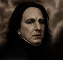 Severus Snape by tree27