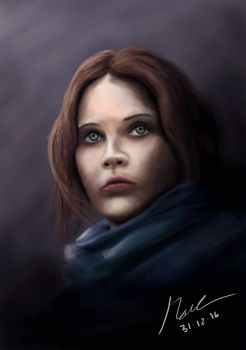 Rogue One - Jyn Erso by INH99