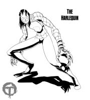 Commission 11022012a The Harlequin by pyrasterran