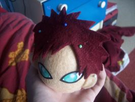 Gaara plushie head by goiku