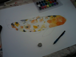 Koi Fish WIP by theartisticnerd