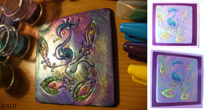 ACEO: Peacock by OpalSkye