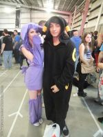 Supanova 2013 - Espeon and Umbreon by fulldancer-alchemist
