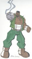 Final Fantasy VII- Barret Wallace by RobertMacQuarrie1