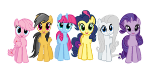 If Daring-Do have  freinds by NightSilverChelly