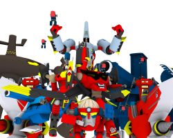 Welcome it Tengen toppa WARS by hongliang