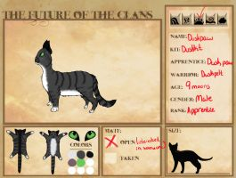 FOC: Duskpaw of Lightclan by CheapCarnyRide
