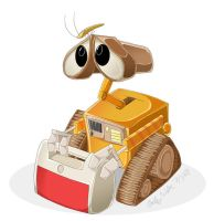 Wall-E by Zimeta