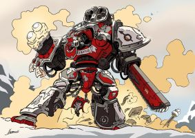 The Imperial Knight by NachoMon
