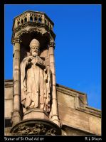 Statue of St Chad rld 01 by richardldixon