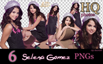Selena Gomez PNGs by Sharah11