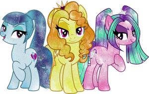 Galaxy Dazzlings by DigiTeku